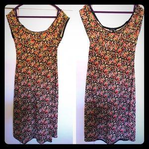 Betsey Johnson Vintage Dress, Maxi size L